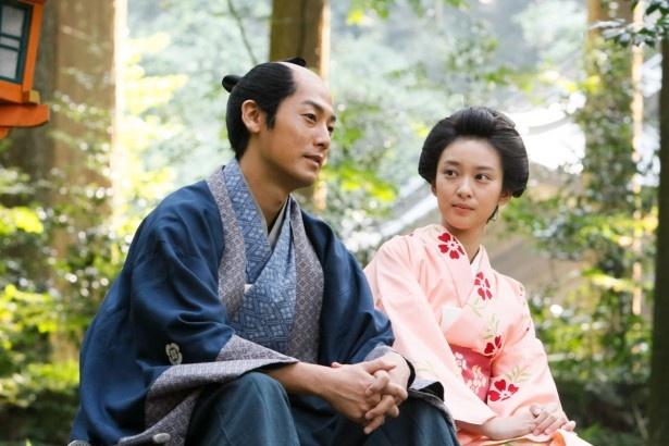 「忠臣蔵の恋―」では、奥女中・きよ(武井咲)は赤穂藩家臣・礒貝十郎左衛門(福士誠治)に恋をする