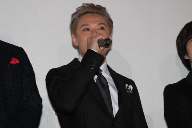 仙九郎役の石垣佑磨
