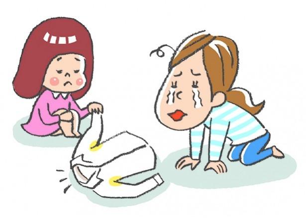 洗ったはずなのに、なぜか落ちていない黒ずみや黄ばみ。洗濯機へ入れる前に適切な処理を!
