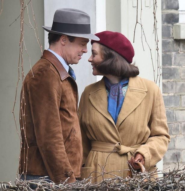 共演によって親密な関係になったと報じられたマリオンとブラッド