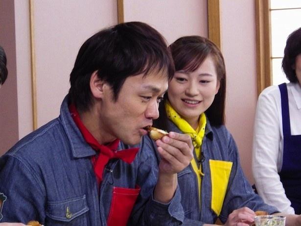10月9日(日)に放送される第2回では、北海道・札幌市のしょう油工場を見学し、その後しょう油の風味を生かした絶品料理を堪能する