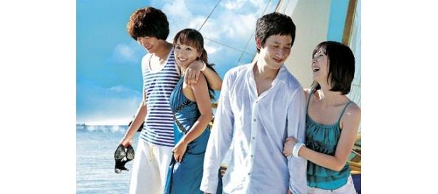 フィリピンのボラカイ島を舞台に描かれる『ロマンチック・アイランド』