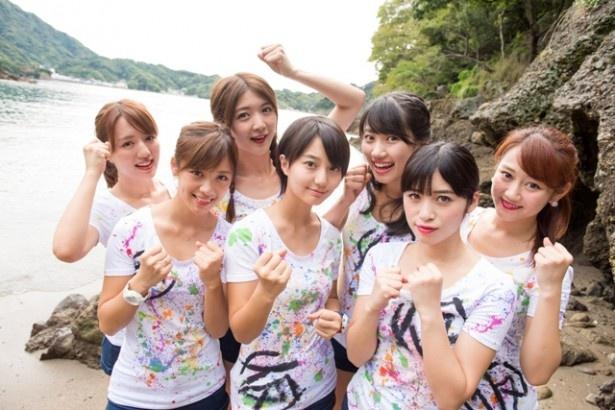 東京・日本武道館公演に向けての試練として実施された今回のイベント。メンバーは前日に、船で現地に上陸した