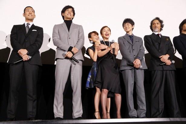 「真田十勇士」が9月22日に初日を迎え、豪華出演者が舞台あいさつに登壇!