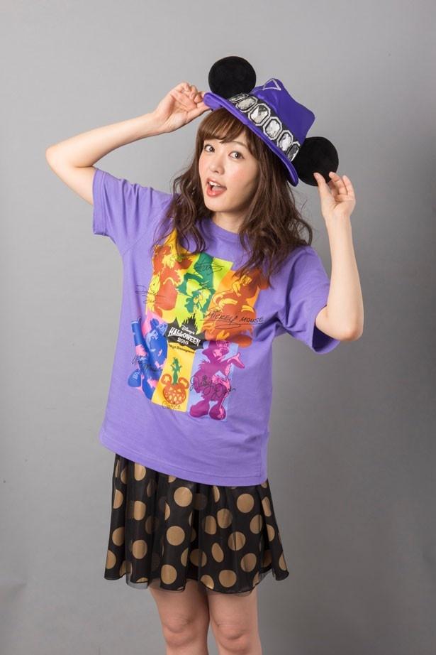 「ファンキャップ」(3000円)の着用イメージ