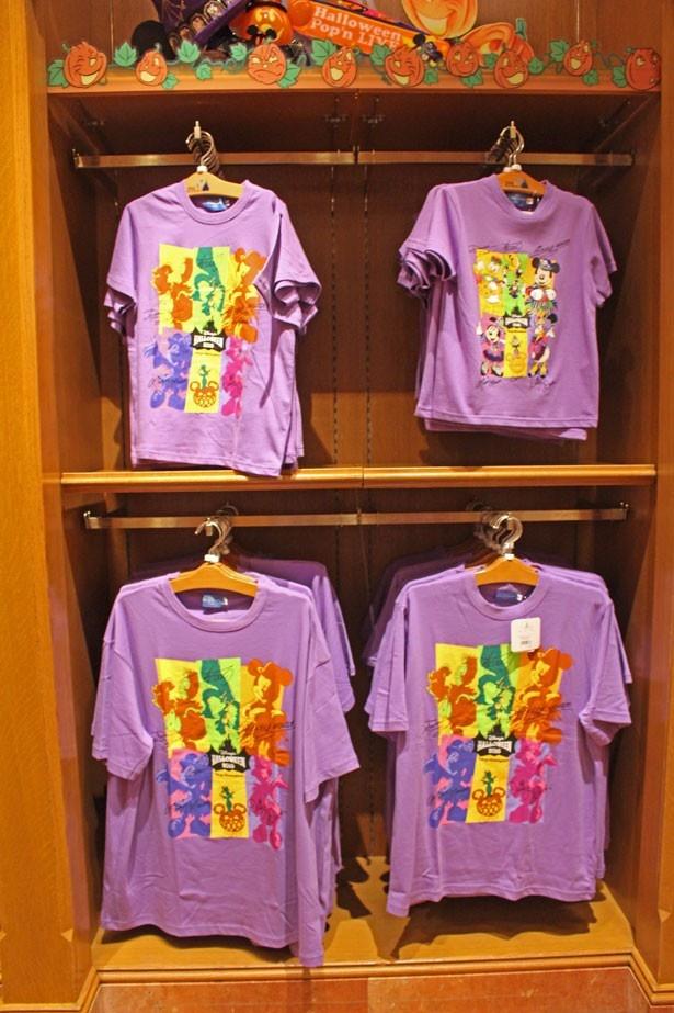 サイズ展開豊富なTシャツ。100、110、120cm(写真右上・各1900円)も用意