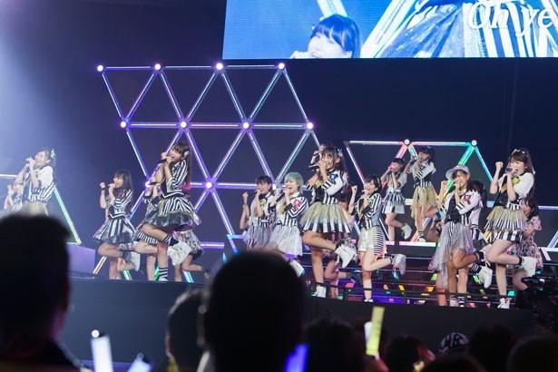 山本彩不在のコンサートを開催したNMB48