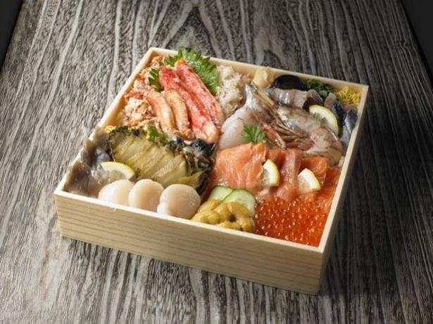 『美食千歳』海からの贈り物~秋の味覚と海の幸の食べ比べ御膳~