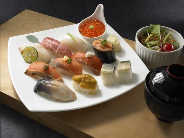 鮭の食べ比べができる『日本橋』秋の海幸あじわいセット