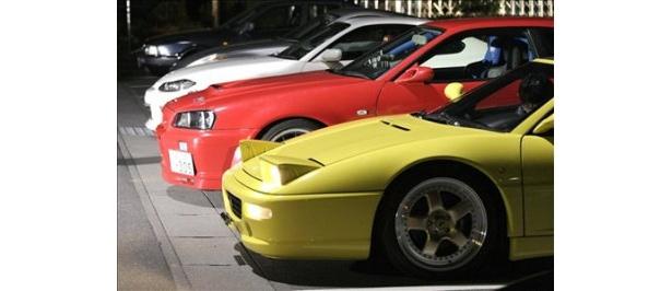 さまざまなスポーツカーが登場するのも本作の魅力の一つ