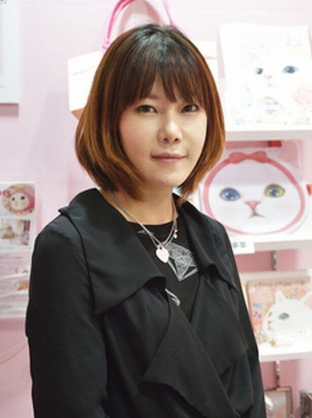 「choo choo」の原作者であるキム・ミョンスさん。猫屋敷プロジェクトをお祝いに韓国から駆けつけ、サイン会も開催する