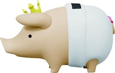 F賞「プーギーソフビ貯金箱」の、はだかの王様バージョン