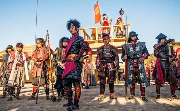 映画「真田十勇士」は9月22日から全国公開中