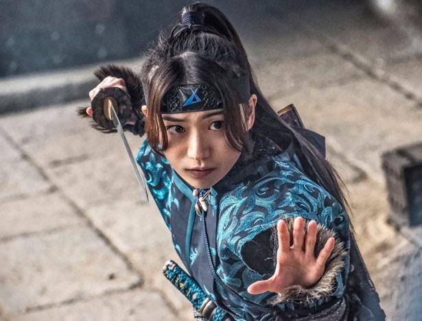 映画「真田十勇士」の女忍者・火垂(ほたる)役は大島優子がつとめる