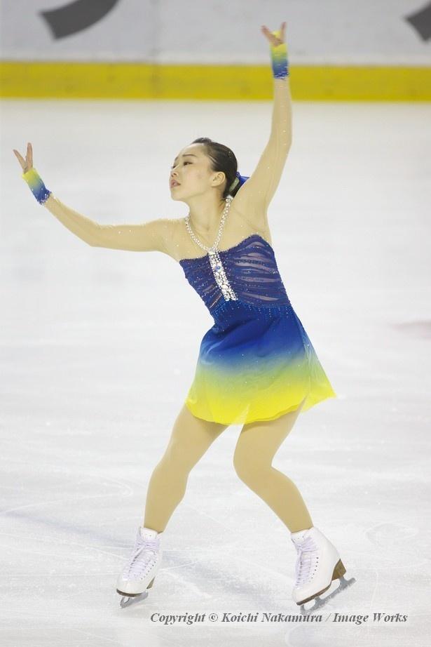 樋口新葉、ショートプログラムの演技
