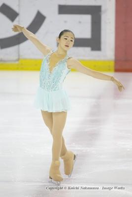 青木祐奈、ショートプログラムの演技
