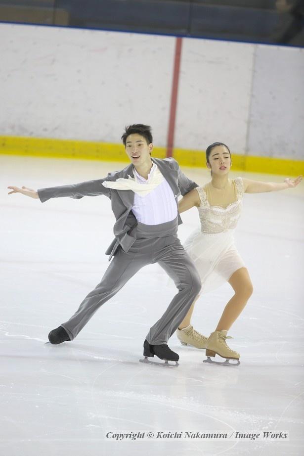 アイスダンスに転向したばかりだが、森選手はリードのセンスがありそうな印象だ