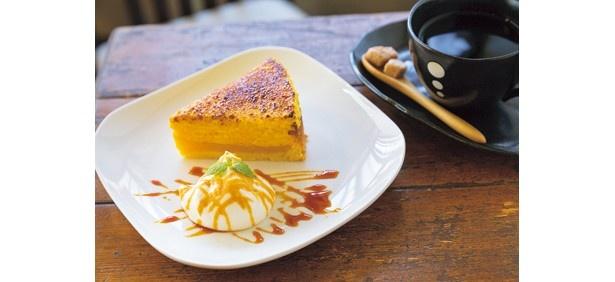 ひと息つくにはぴったりな「ケーキセット」(1000円)/Cafe 1001