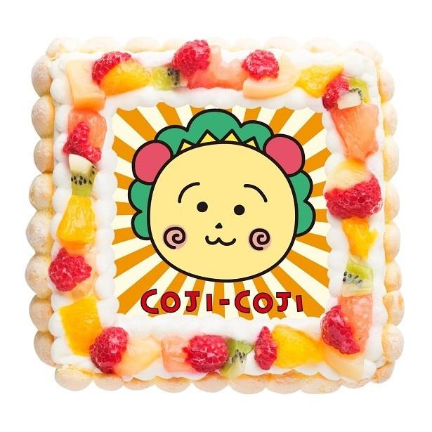 大人気漫画の「コジコジ」がデザインされたケーキ