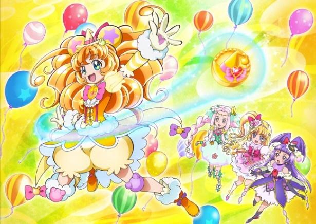 くまモンら人気クマキャラ10体も出演する『映画魔法つかいプリキュア!奇跡の変身!キュアモフルン!』