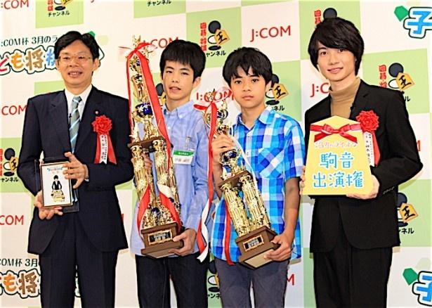 「第5回J:COM杯 3月のライオン子ども将棋大会」の表彰式イベントに神木隆之介が出席