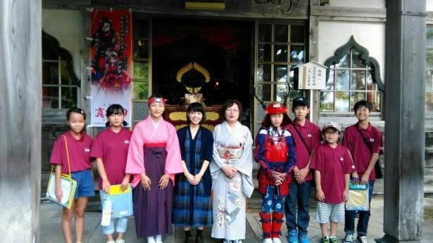 「真田丸」でたか役を演じる岸井ゆきのが秋田・由利本荘市を訪れた