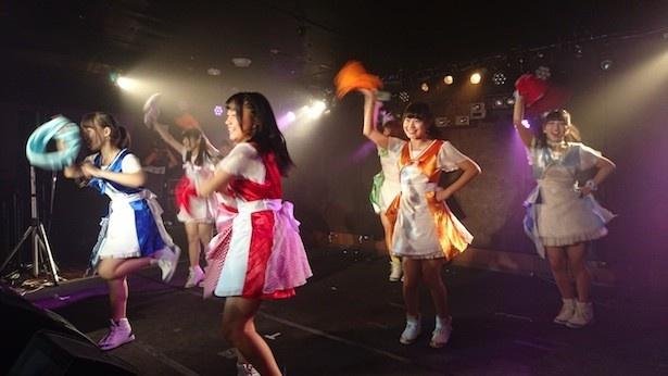 LOVE♡INA30は、愛知・稲沢市の夏祭りで行われた公開オーディションから誕生した