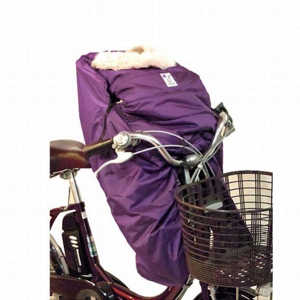 【写真を見る】自転車用チャイルドシート(前)に装着するバージョンも