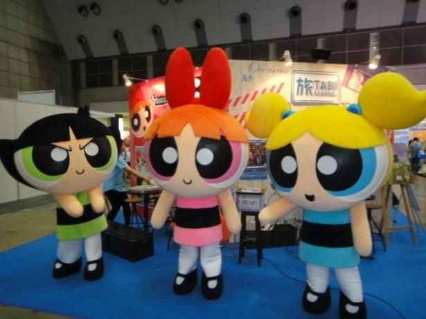 「カートゥーン ネットワーク」で大人気のアニメ「パワーパフ ガールズ」の3人娘