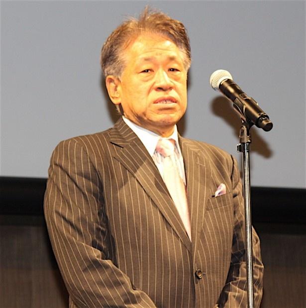 東京国際映画祭ディレクター・ジェネラルの椎名保