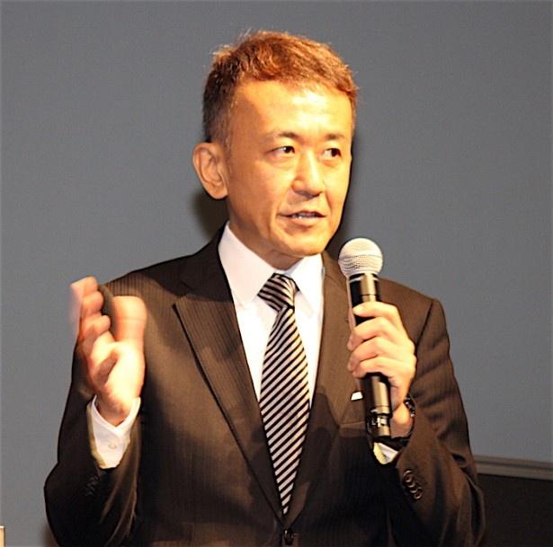 「コンペティション」部門プログラミング・ディレクターの矢田部吉彦