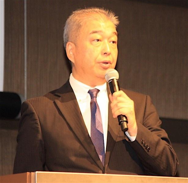 「アジアの未来」部門プログラミング・ディレクターの石坂健治