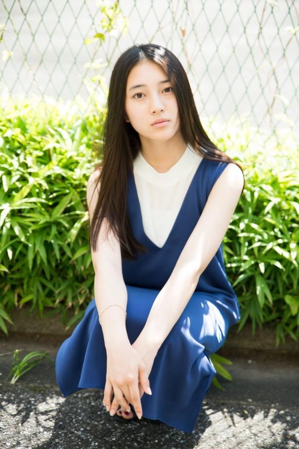 久保田は「将来は振り幅がある女優になりたい」と希望を語る