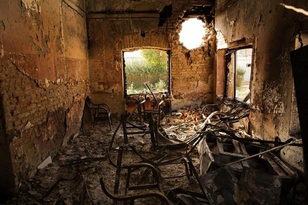 紛争地の現状をリアルに感じられる、さまざまな写真を展示