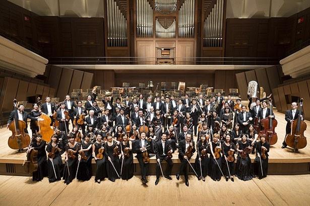 演奏は近年注目を集める「新日本フィルハーモニー交響楽団」