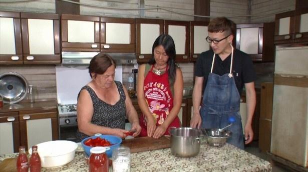 トマト農家の家で本場のトマトソース作りを学んだ馬場は料理人としての腕がさらに上がる!?
