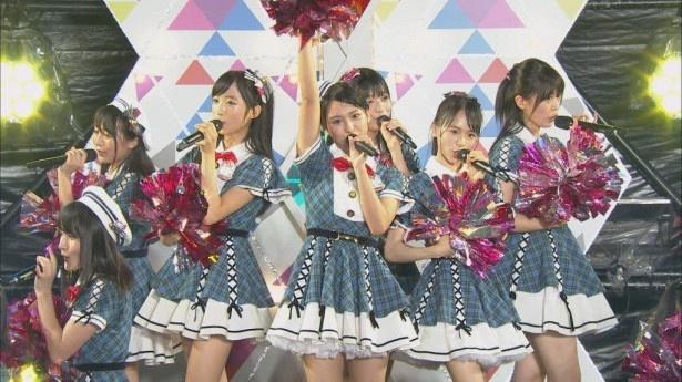 AKB48 Team8のサマステLIVEの模様をオンエア