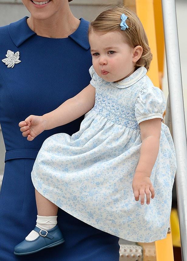 初のロイヤルツアーとなるシャーロット王女に注目が集まっている