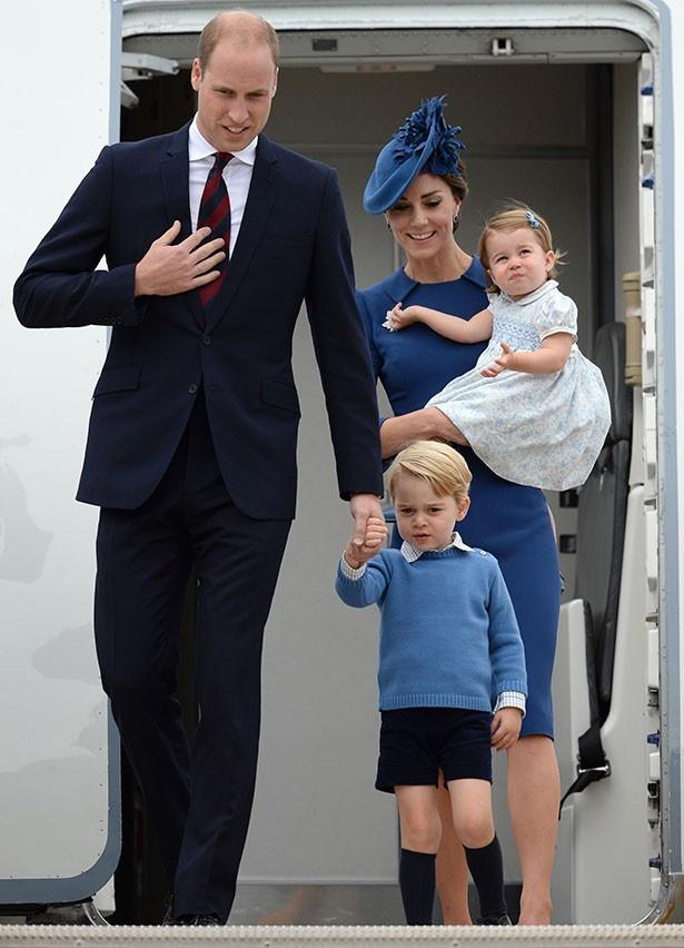 ウィリアム王子一家がカナダを公式訪問