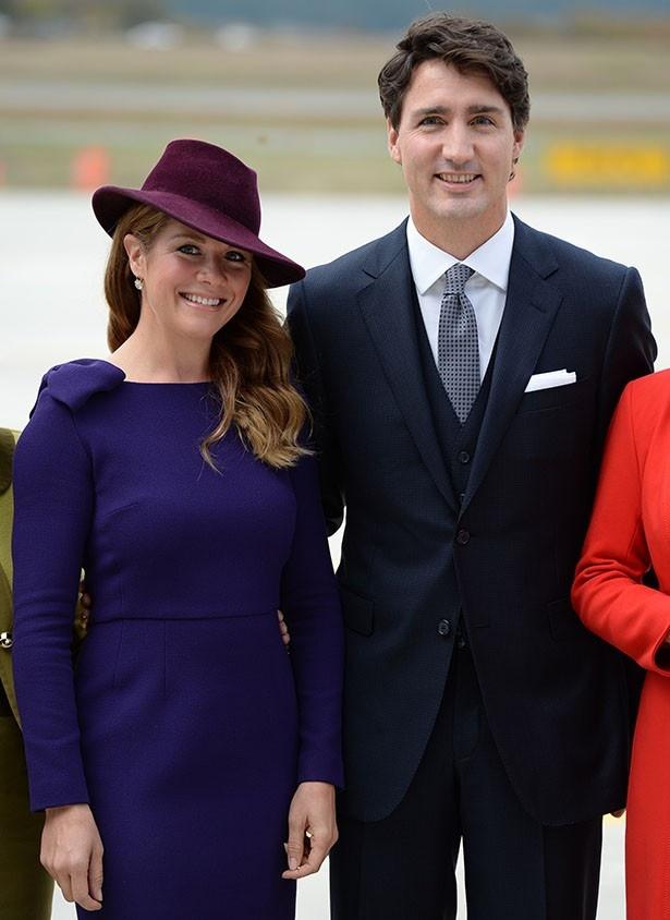 ウィリアム王子一家を歓迎したトルドー首相とソフィー首相夫人