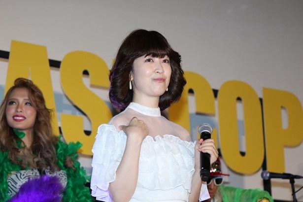 服装のみならずコメントまで80年代のアイドルを完コピしていた黒川智花