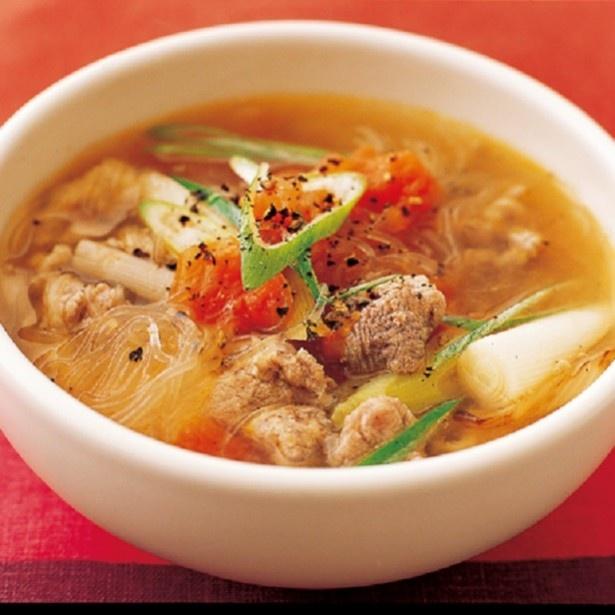 冷えが気になるなら「繊維たっぷりの具だくさんスープ」に注目を