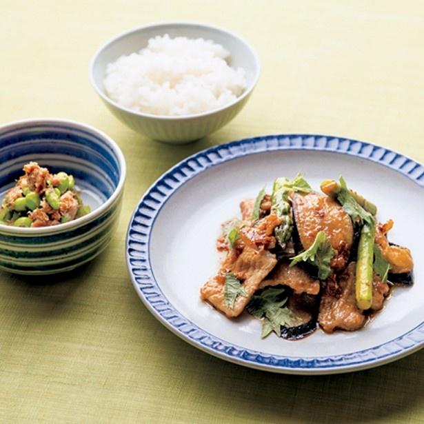 野菜をふんだんに使った、ご飯が進む2品!