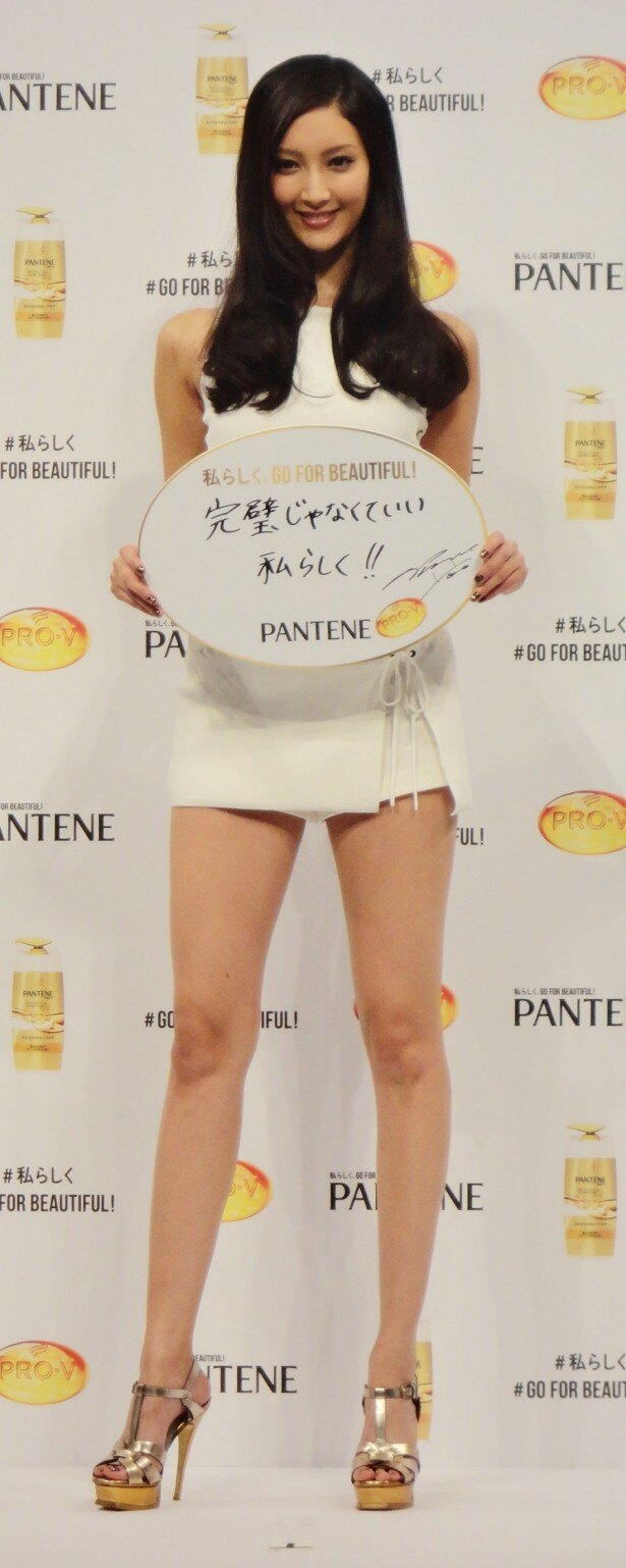 【写真を見る】ブランドメッセージは「私らしく、GO FOR BEAUTIFUL!」