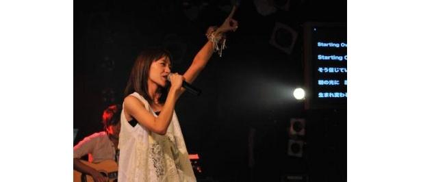 彼女の歌に会場全体が聴き入った