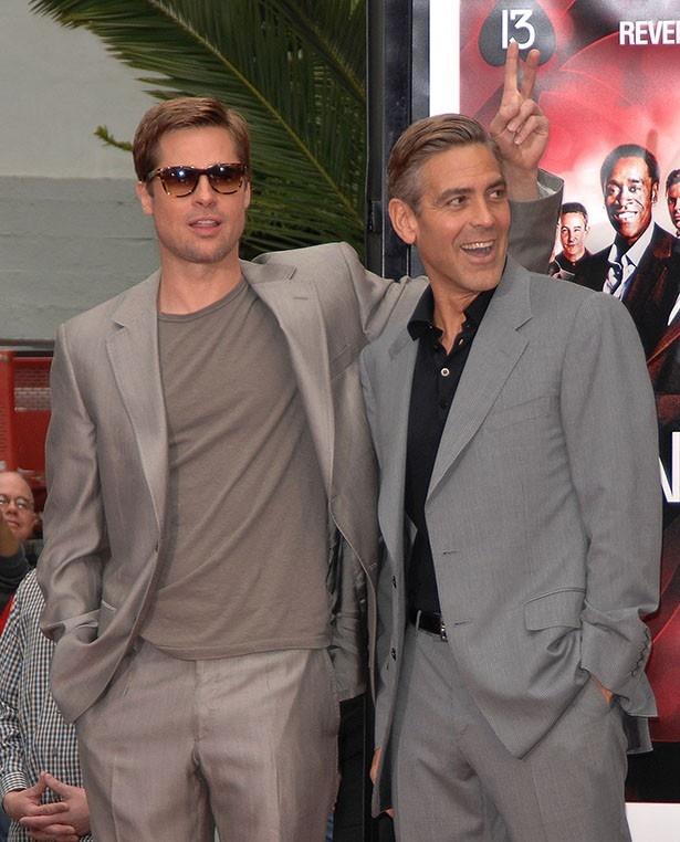 【写真を見る】ブラッドとエイプリルを引き合わせたのはジョージ・クルーニー?