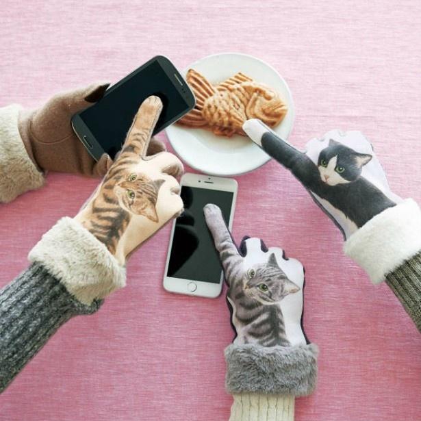 着けたら猫気分!? 猫が画面をパンチする手袋が登場