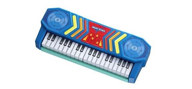 8/28からもらえるキーボード。鍵盤を押すと音が出る