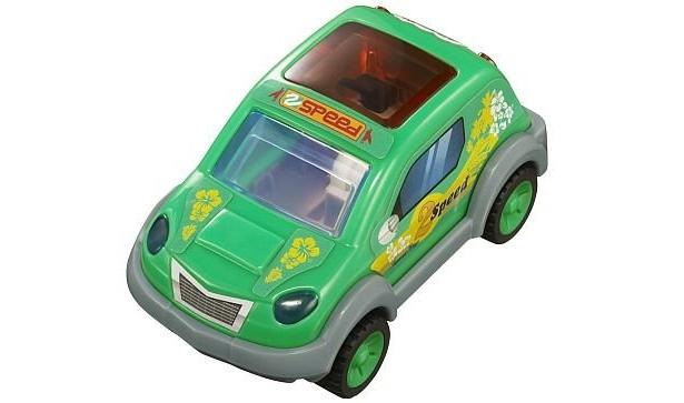 9/28からもらえるグリーン。2段階にスピードが変わるプルバックカーだ。ほか、同日から3種類登場