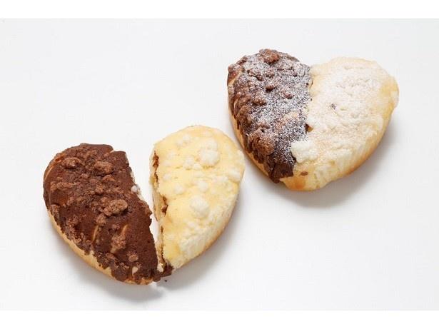 1日限定12個の「LOVEパン」(232円)